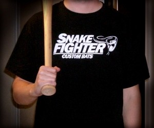 Custom Baseball Bat T-Shirts